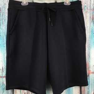32 Degree's Men's Navy Blue Jogger Sweat Shorts